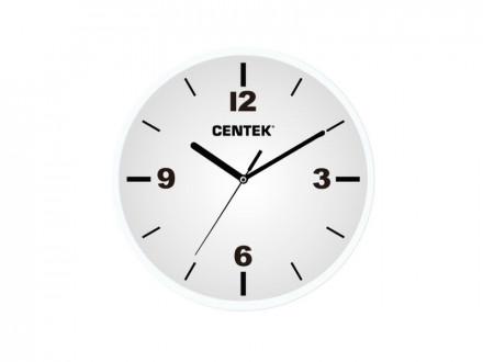 Часы настенные CT-7102 White CENTEK