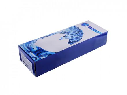 """Смеситель Klabb 08 (16) для ванны, дл. излив, керам. кран-буксы 1/2"""", хром D"""