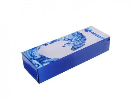 """Смеситель Klabb 08 (10) для ванны, дл. излив, керам. кран-буксы 1/2"""", хром D"""