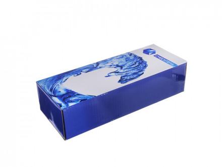 """Смеситель Klabb 09 (16)для ванны, дл. излив, керам. кран-буксы 1/2"""", хром"""