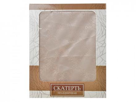 Скатерть полиэстер 140x180см, в подар. упак. 4 дизайна