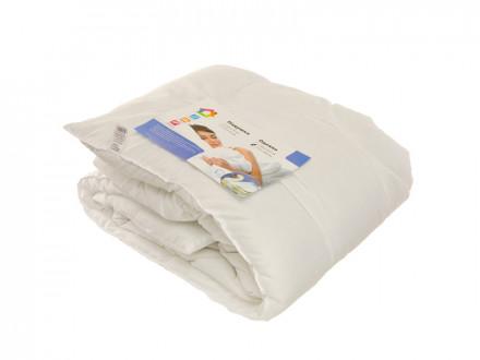 Одеяло Лебяжий пух, стеганое, утепленное, полиэстер, 172х205см