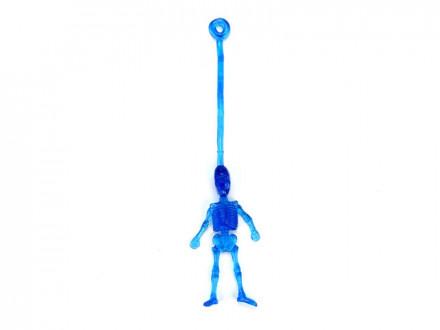 Лизун Скелетик, полимер, 8х3,5см, 4 цвета