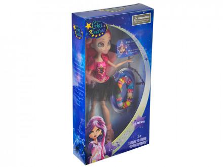 Кукла с 3D глазами, 29см, с аксесс., пластик, полиэстер, 16х31х5,5см, 2 дизайна
