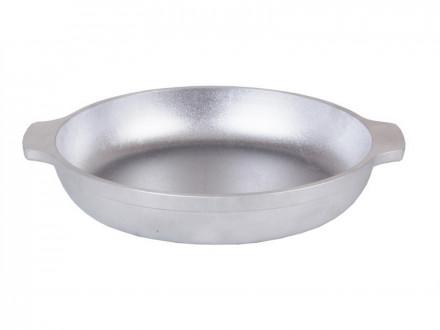 Сковорода 180/35мм с ручками kukmara