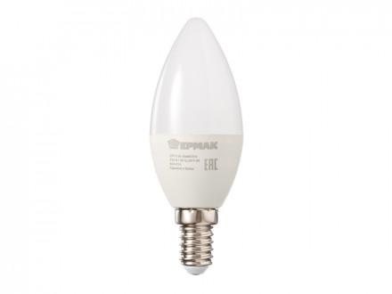 Лампа светодиодная свеча С37, 5 Вт, E14, 400 Лм, 3000К, теплый свет