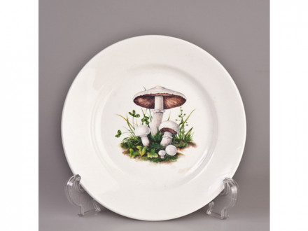 Тарелка 175 мелкая гр8 грибы ск057