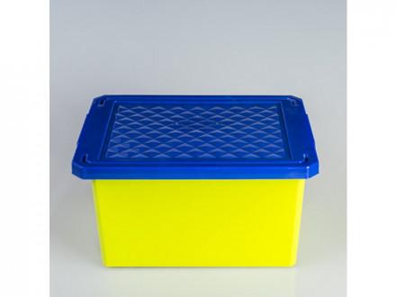 Ящик для игрушек 17л малый фисташка пц1017