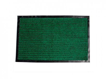 Коврик придверный влаговпитывающий 48х78 зеленый
