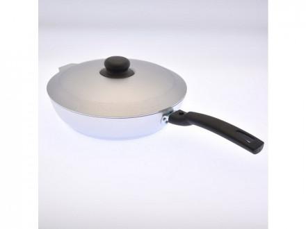 Сковорода 24см с крышкой съем ручка