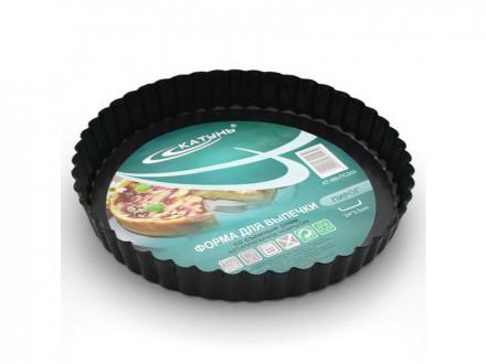 Форма для выпечки 24х3,5см пирог со съемным дном