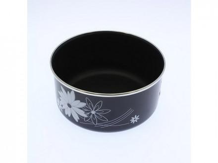 Форма для выпечки 2,0л эмаль, антипригарное покрытие