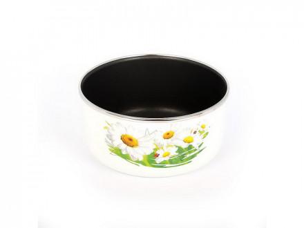 Форма для выпечки 1,5л эмаль, антипригарное покрытие