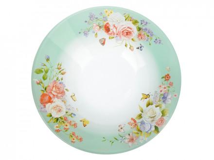 Салатник стекло 228мм Нежное цветение