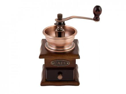 Кофемолка с деревянным основанием, 827G001
