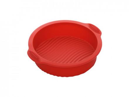 Форма круглая для выпечки 762011 силиконовая, 28x25x6 см, NADOBA, серия MILA