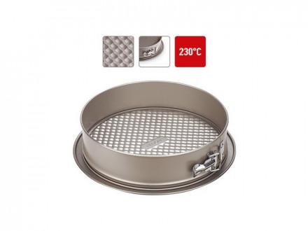 Форма для выпечки 761010 разъемная, стальная, антипригарная, 25х6 см, NADOBA, серия RADA