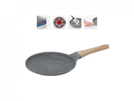 Сковорода блинная 728421 с антипригарным покрытием, 24 см, NADOBA, серия MINERALICA