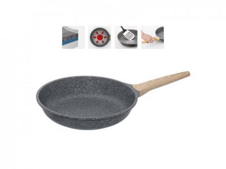 Сковорода 728416 с антипригарным покрытием, 28 см, NADOBA, серия MINERALICA