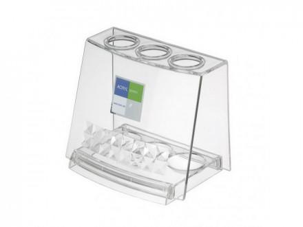 Подставка для зубных щеток прозрачный