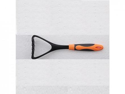"""Картофелемялка №2 нейлон orange ручка """"soft-touch"""""""