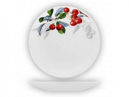 Тарелка десертная 19,0см соната зимняя вишня