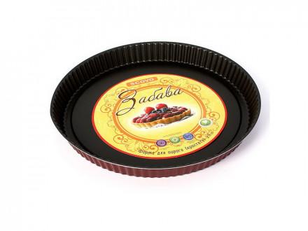 Форма для выпечки круг 28см забава для пирога (кростата)
