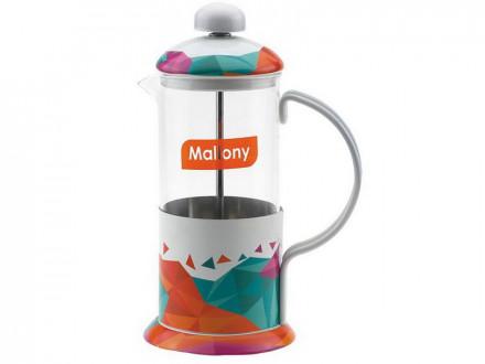"""Чайник кофейник Mallony """"UNICO"""" UNICO-1000ML 950142"""