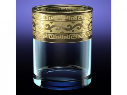 """Набор 6 стаканов для виски """"Истанбул"""" 250 мл с рисунком """"Версаче"""" GE08-405"""