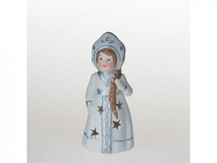 Сувенир новогодний снегурочка с подсветкой 11,5см 12в084-4 р-58