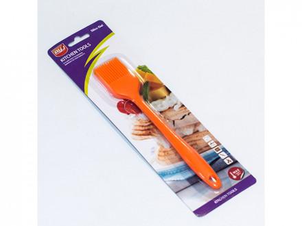 Кисть пекарская силикон монолитная 21см упаковка 144шт