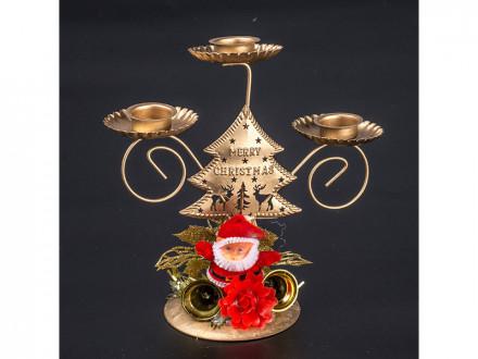 Подсвечник пласт 3 свечи of18197 18 39