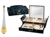Столовые приборы 72 предмета в деревянном чемодане Zillinger 525ZP Leona