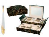Столовые приборы 72 предмета в деревянном чемодане Zillinger ZL-853 Gisela